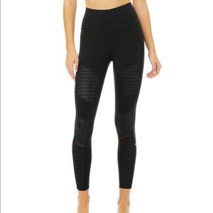 New Alo Yoga 7/8 High-Waist Moto Legging